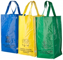 Tašky pro recyklaci odpadů