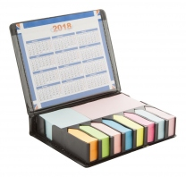 Sada samolepících bločků a kalendáře (2010) v pouzdře