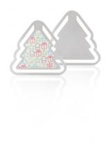 Záložka, vánoční stromeček