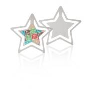 Záložka, hvězda