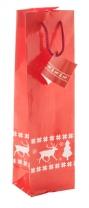 Dárková papírová taška na víno