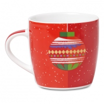 Mug with  XMAS BAUBLE