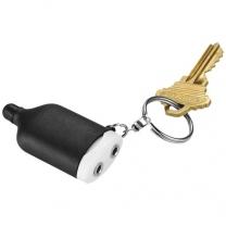 Hudební rozbočovač a stylus jako přívěsek na klíče 2-v-1