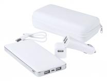 Sada USB power banka a nabíječka