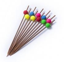 Bambusové hůlky, 10 ks