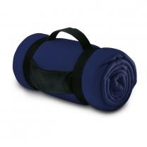 Fleecová deka s popruhy