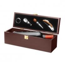 Krabička a nářadí na víno