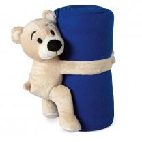 Fleecová deka s medvídkem