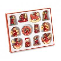 12 pieces Christmas decoration