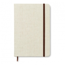 A5 zápisník s plátěnou obálkou