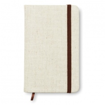 A6 notebook canvas covered