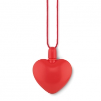 Heart shaped bubble blower