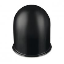 Plastic tow bar cap