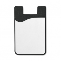 Sublimation silicone cardholder