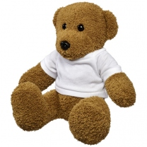 Velký plyšový medvěd v tričku