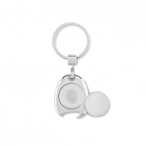 Keyring w token, bottle opener