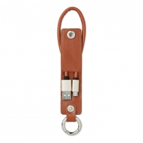 USB-A to micro-B cable keyring