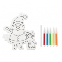 Santa Claus colouring balloon