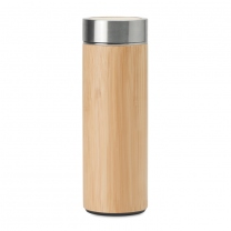 Dvoustěnná bambusová láhev