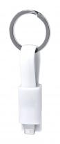 Holnier přívěšek na klíče s USB nabíjecím kabelem