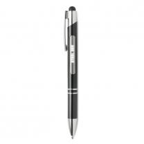Aluminium stylus pen w/ light