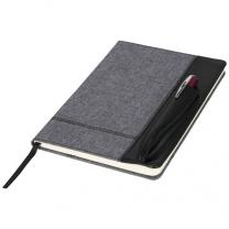 Zápisník A5 s koženkovým vzhledem