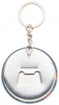 KeyBadge Bottle přívěšek na klíče s plackou