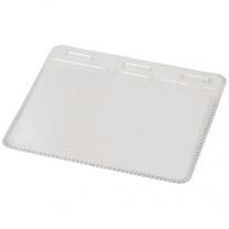 Čiré plastové pouzdro na průkazy Arell