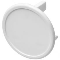 Plastová záslepka Tully pro britské zásuvky (3bodová)