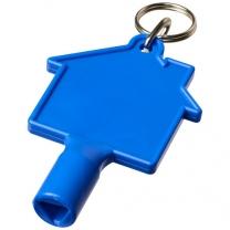 Klíčenkový klíč na měřidla Maximilian ve tvaru domu