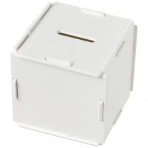 Čtvercový plastový box na peníze Collect