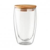 Dvoustěnná sklenice 450ml