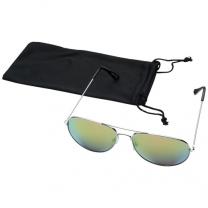 Sluneční brýle s barevnými zrcadlovými sklíčky Aviator