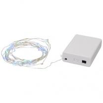 Zvukem aktivovaná řetězová světla Pulse s 50 LED