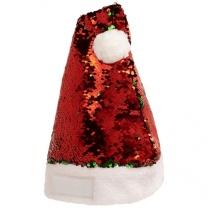Vánoční čepec Sequins