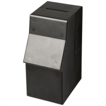 Plastový box na peníze v podobě bankomatu Capital