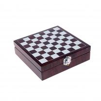 Chess sada na víno a šachy