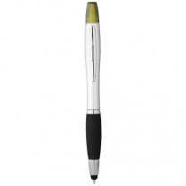 Kuličkové pero, stylus a zvýrazňovač Nash