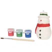 Malovací sněhulák
