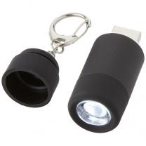 Svítilna na klíče s USB nabíječkou Avior