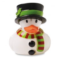 Floating Duck Snowman