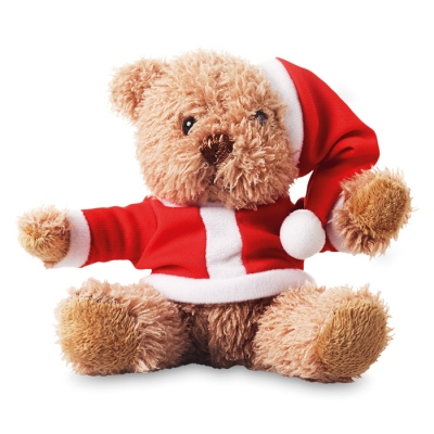 Bear in Christmas style
