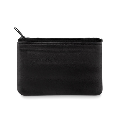 Leather wallet keyholder
