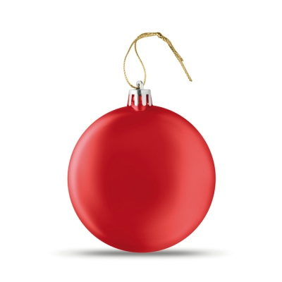 Flat Christmas bauble