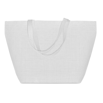 2 tone non woven shopping bag
