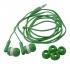 Sluchátka - zelená